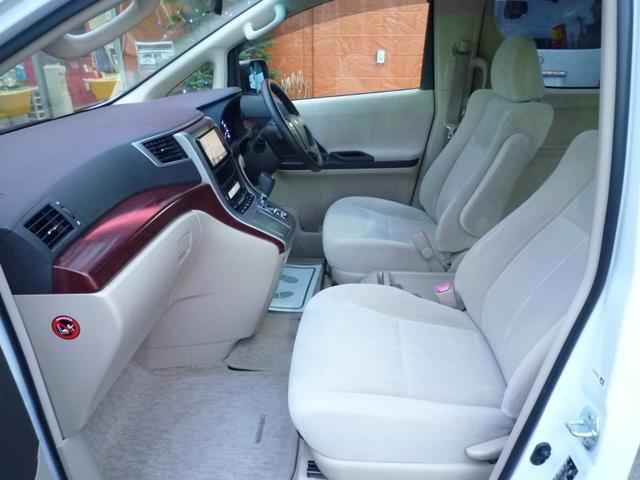トヨタ ヴェルファイア 2.4X左右自動ドアHDDナビフルセグTV後席モニター禁煙車