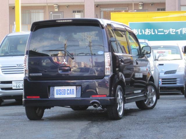 三菱 eKスポーツ R ターボ キセノン サイドバイザー オーディオ エアロ