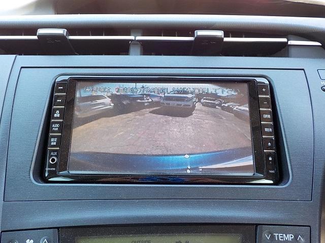 トヨタ プリウス S 純正HDDナビ 地デジ DVD再生 インテリキー ETC