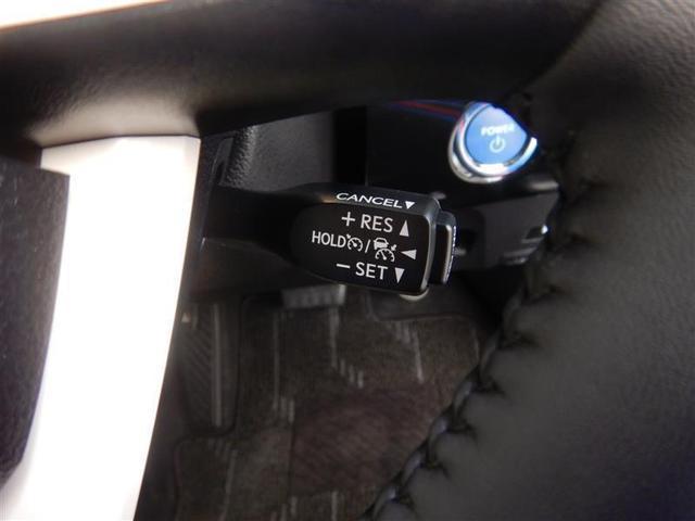 【便利装備】クルーズコントロールスイッチ☆希望の車速で定速走行する事ができます。高速道路を走る時に便利な機能です※設定速度には制限があります。