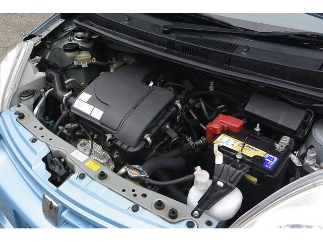 エンジン型式1KR-FE最高出力69ps(51kW)/6000rpm最大トルク9.4kg・m(92N・m)/3600rpm種類直列3気筒DOHC総排気量996cc