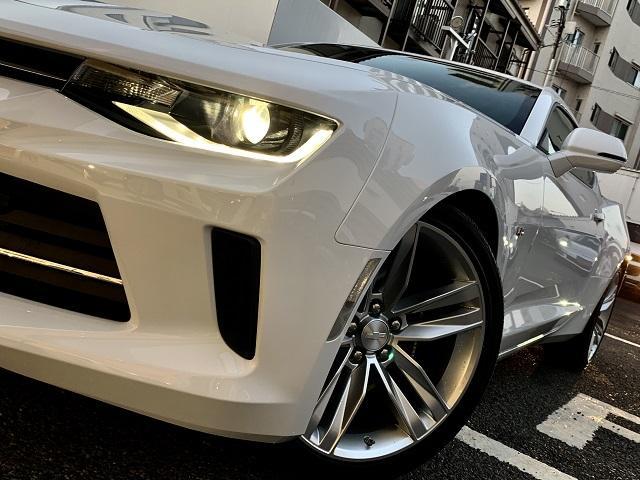 シボレー シボレー カマロ LT RS 正規D車 新車未登録 アップルカープレイ対応