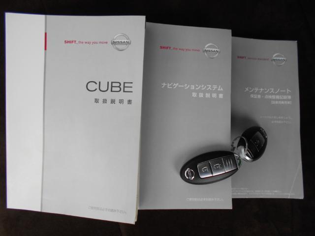 日産 キューブ 15G HDDナビ Bモニター付