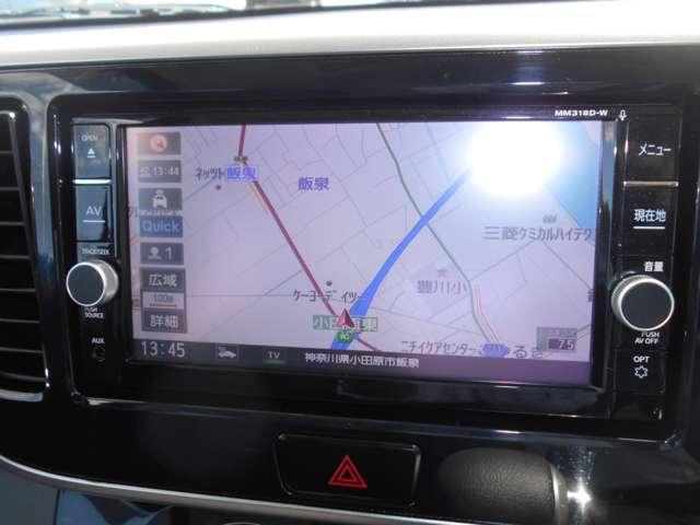 ☆MM318D-Wナビ、フルセグTV、アラウンドビューモニターと充実です♪