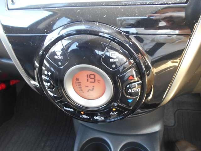 便利なオートエアコンなので空調はおまかせで・・・。