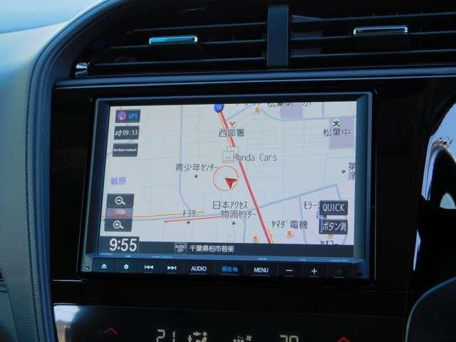 ディーラー装着純正8インチメモリーナビVXM-195VFEi(CD/DVD再生機能・地デジフルセグ・SDスロット・Bluetoothオーディオ・ラジオ)・インターナビリンクアップフリー・