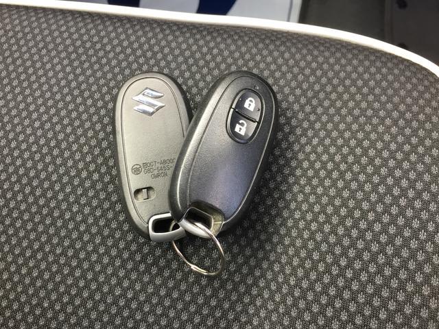 リモコンを携帯していれば、ドアの施錠・開錠やエンジンの始動がワンプッシュで行える「キーレスプッシュスタートシステム」を搭載!リモコンキーはもちろん2個付属しています★