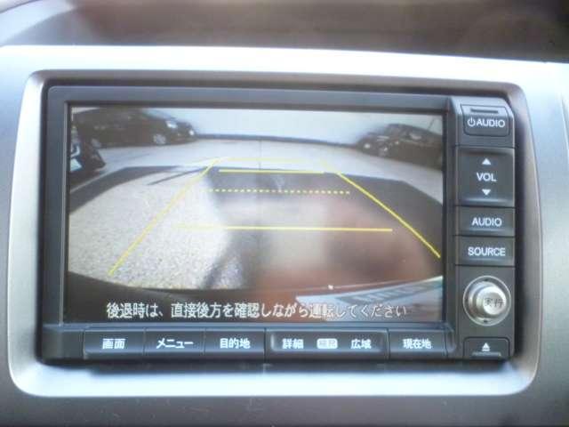 ホンダ ステップワゴンスパーダ 純正HDDナビ バックカメラ ETC