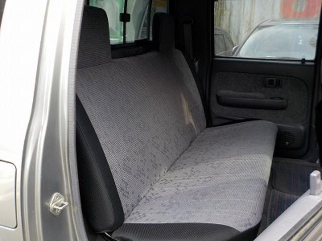 トヨタ ハイラックススポーツピック ダブルキャブワイド4WD後期型デフロック記録簿メッキバンパー