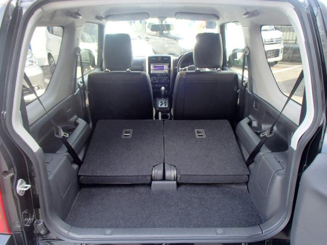 スズキ ジムニー ランドベンチャー4WDターボ専用黒革シートヒーター背面タイヤ