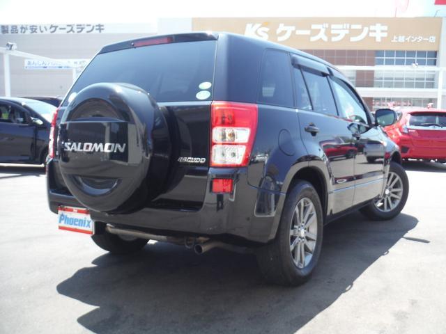スズキ エスクード サロモンLTD専用4WDサンルーフOPエアロHDDナビ地デジ