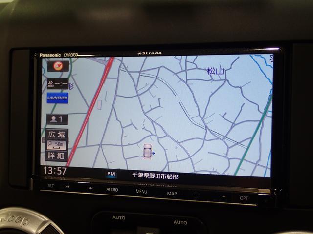 SDナビゲーション装備!フルセグ・DVD・Bluetooth対応!