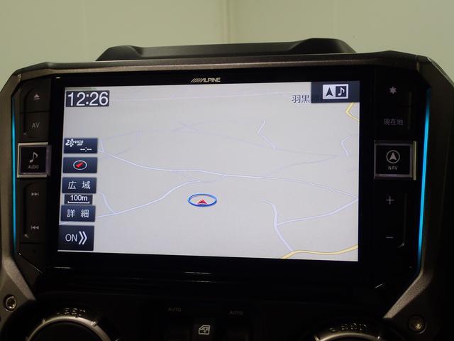サハラ アンリミテッドサハラ レザーシート アルパイン製9インチナビ サイド/バックカメラ装備 シートヒーター付き ワンオーナー車輛 認定中古車(61枚目)