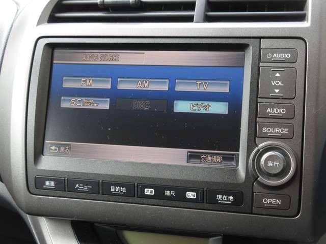 X特別仕様車 HDDナビエディション 純正HDDナビ  キーレス(5枚目)