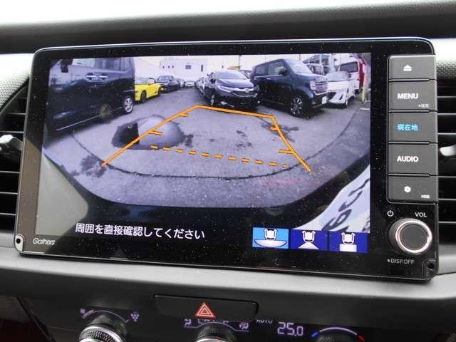 e:HEVネス 試乗車UP ギャザズ9インチナビVXU-205FTi(Honda CONNECT対応) Bluetoothオーディオ 音楽録音機能 フルセグ リアカメラ ETC 禁煙車(10枚目)