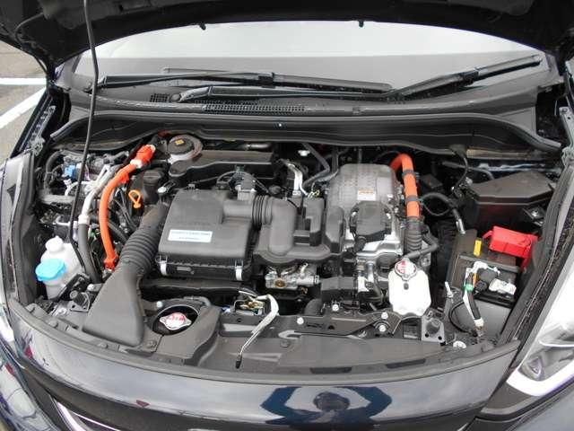 e:HEVネス 試乗車UP ギャザズ9インチナビVXU-205FTi(Honda CONNECT対応) Bluetoothオーディオ 音楽録音機能 フルセグ リアカメラ ETC 禁煙車(19枚目)
