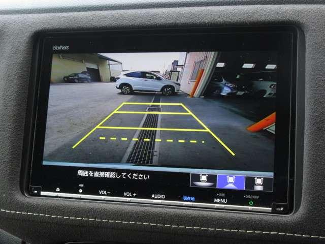 RS・ホンダセンシング 試乗車UP ギャザズ8インチナビVXM-197VFEi Bluetoothオーディオ 音楽録音機能 フルセグ ETC 禁煙車(6枚目)