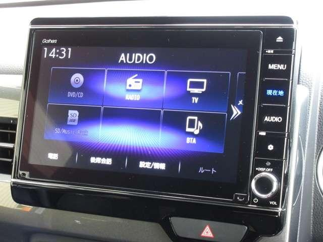 Lホンダセンシング 試乗車UP ギャザズナビ VXU-217NBi Bluetoothオーディオ 音楽録音機能 フルセグ リアカメラ ETC 禁煙車(5枚目)