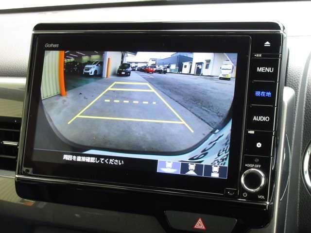 Lホンダセンシング 試乗車UP ギャザズナビ VXU-217NBi Bluetoothオーディオ 音楽録音機能 フルセグ リアカメラ ETC 禁煙車(6枚目)