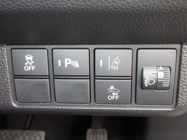 Lホンダセンシング 試乗車UP ギャザズナビ VXU-217NBi Bluetoothオーディオ 音楽録音機能 フルセグ リアカメラ ETC 禁煙車(13枚目)