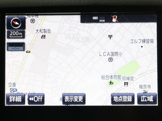 アスリートG-T ワンオーナー LED SDナビ DTV(5枚目)