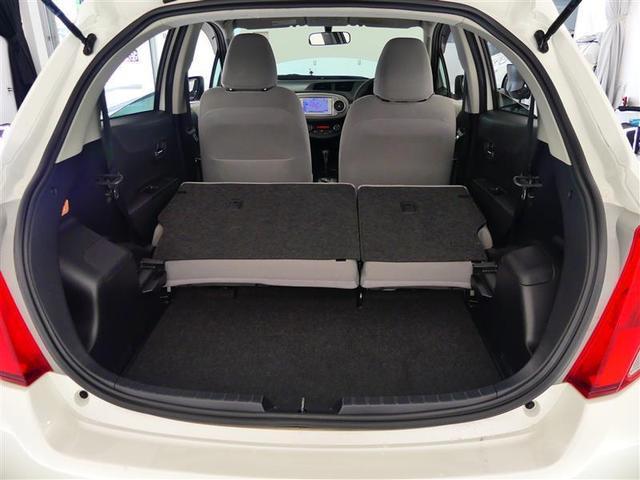 リヤシートを操作すれば大きな荷物にも対応できます♪ご来店時に試しに積んでみることも可能ですのでお気軽にどうぞ!