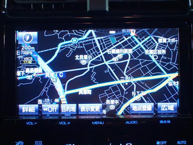 トヨタ プリウス Sツーリングセレクション SDナビ フルセグTV
