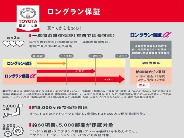 F トヨタ認定中古車 1年間走行無制限保証(18枚目)