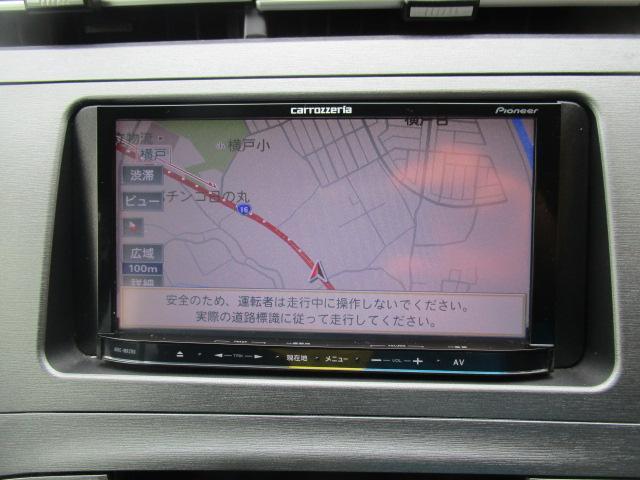 S カロッツェリアナビ・フルセグ・Bカメラ・WORK19インチAW 車高調 ETC(11枚目)