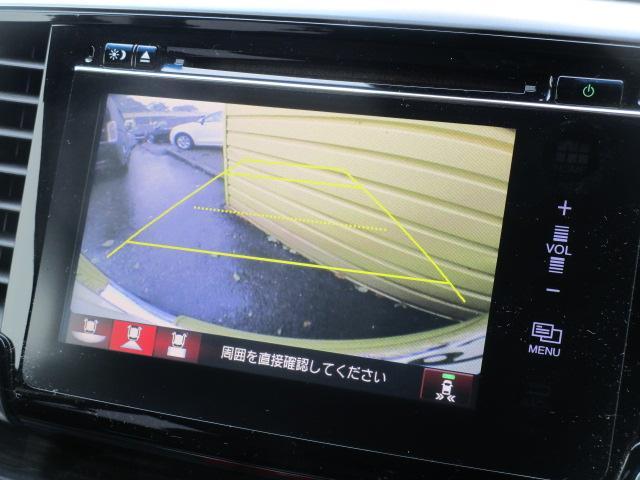 アブソルート・EX 純正ナビ フルセグ 両側電動スライドドア WORK20インチAW 車高調(11枚目)