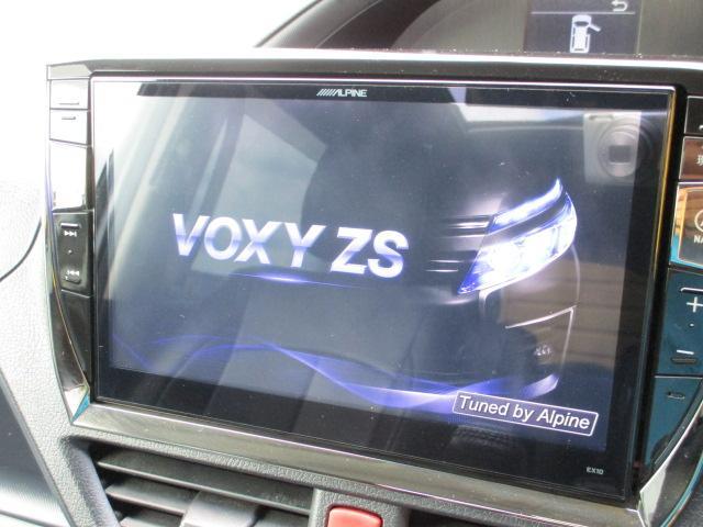 ZS アルパインナビ・フルセグ・Bカメラ・フリップダウンモニター・WORK19AW・車高調・ワンオーナー・モデリスタエアロ(12枚目)