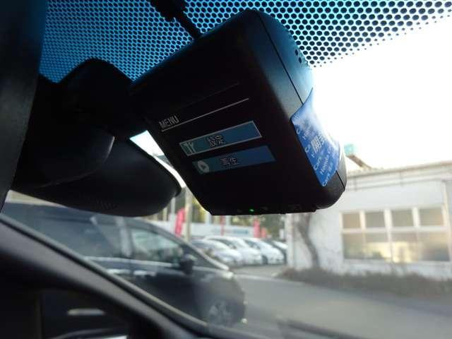 ドライブレコーダを装備しています。万が一の際に、安全運転の証拠を記録することが出来ます。