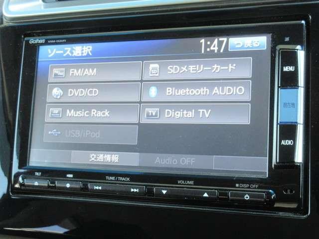 Fパッケージ 純正メモリーナビ Bluetooth Rカメラ(3枚目)