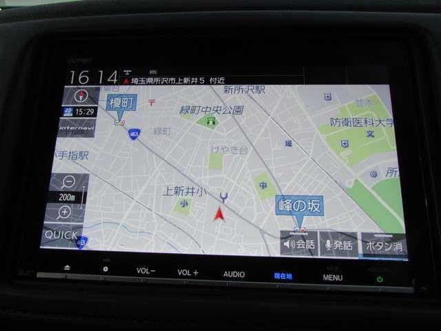 X・ホンダセンシング 当社元試乗車 純正メモリーナビ Bluetooth インターナビ リアカメラ ETC 安全運転支援システム サイドカーテンエアバッグ シートヒーター アルミホイール スマートキーシステム(7枚目)