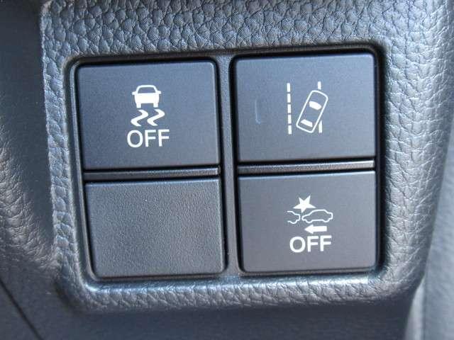 G・Lホンダセンシング 当社元試乗車 禁煙車 純正8インチナビ Bluetooth ETC 安全運転支援システム 衝突軽減ブレーキシステム サイドカーテンエアバック LEDヘッドライト 左側電動パワースライドドア(13枚目)
