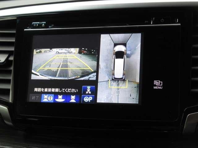 ハイブリッドアブソルート・ホンダセンシングEXパック ワンオーナー 純正メモリーナビ Bluetooth ETC ドライブレコーダー 全方位カメラ 安全運転支援システム 衝突軽減ブレーキシステム サイドカーテンエアバック 両側電動パワースライドドア(11枚目)