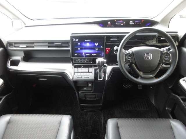 スパーダ・クールスピリット ホンダセンシング ワンオーナー 純正10インチナビ リア席モニター Bluetooth ドライブレコーダー ETC 安全運転支援システム 衝突軽減ブレーキシステム 両席電動パワースライドドア LEDヘッドライト(10枚目)