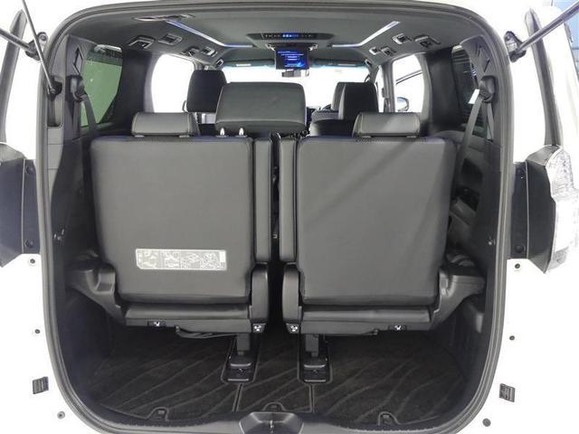 2.5Z Aエディション ゴールデンアイズ フルセグ メモリーナビ 後席モニター バックカメラ ドラレコ ETC 両側電動スライド LEDヘッドランプ 3列シート ワンオーナー DVD再生 ミュージックプレイヤー接続可 乗車定員7人 安全装備(12枚目)