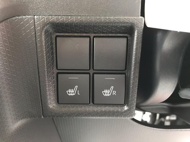 シートヒーター装備