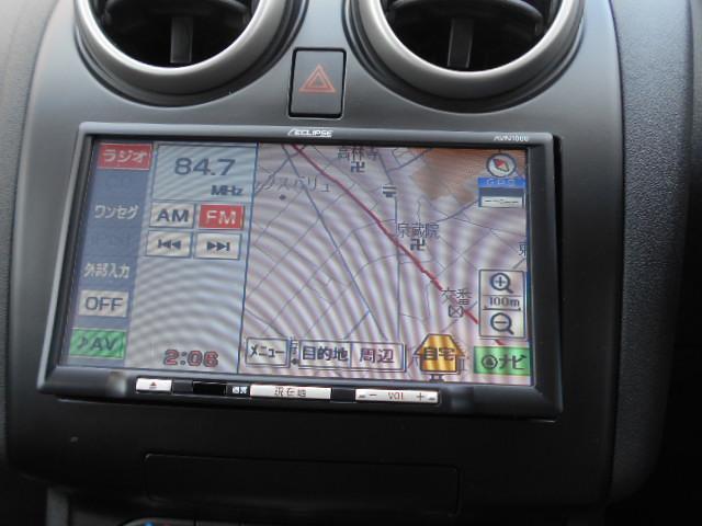 日産 デュアリス 20G  コーナーセンサー付