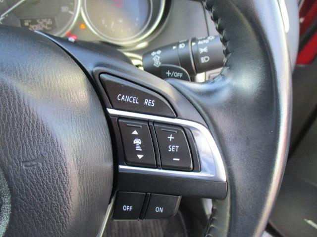 ■クルーズコントロール付き!高速走行時のドライバーの負担を軽減してくれます。