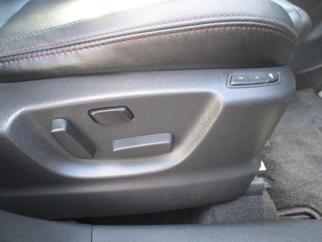 ■運転席パワーシートでお好みのシートポジションが設定できます!