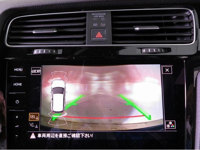 フォルクスワーゲン VW ゴルフR 7.5モデル 9.2インチナビ 禁煙使用 ワンオーナーDWA