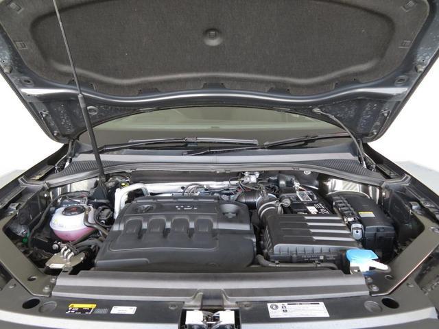 粘り強いトルクとハイレスポンス、そして優れた静粛性が特徴のTDIエンジン