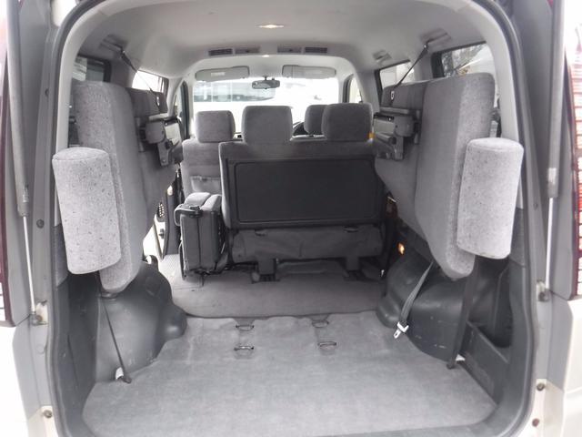 ホンダ ステップワゴン G 4WD社外HDDナビ 純正アルミ