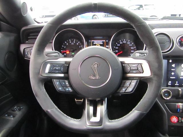 シェルビーGT350 BCD自社輸入車 RECAROシート ブラック19インチAW レーシングストライプ アクティブバルブパフォーマンスエキゾースト(14枚目)