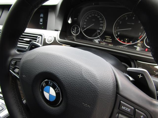 523i Mスポーツパッケージ 1オーナー ブラックレザーシート シートヒーター インテリアウッドトリム ミラーETC PDC パドルシフト バックカメラ コンフォートアクセス バイキセノンヘッドライト(26枚目)