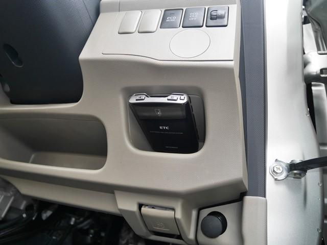 ETCは運転席右側に装備。