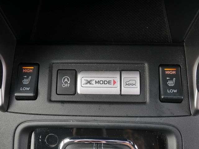 運転席と助手席はシートヒーターが装備されています。後期ですので後席にも装備されています。