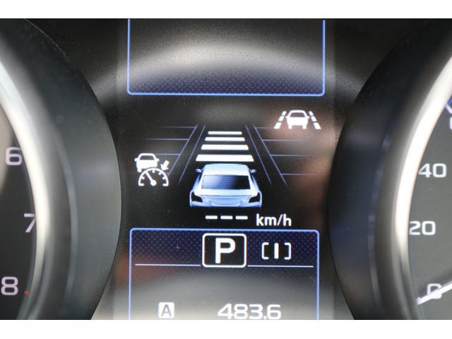 追従時の車間距離は手元スイッチで3段階に調整可能